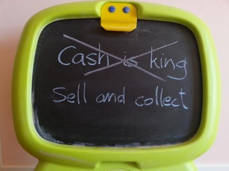 cash is king is wrong